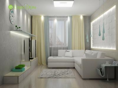 Однокомнатная квартира: живем с комфортом