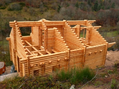 Строительство домов из бревен под ключ проекты и цены