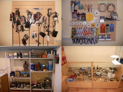 Инструмент оборудование и материалы
