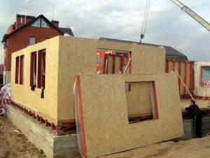 Каркасно-щитового дома по технологии SIP