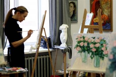 Возможность заниматься живописью