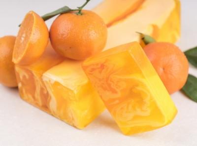 Рецепт мандаринового мыла своими руками