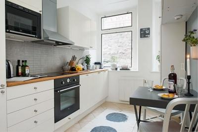 Как выбрать мебель для маленькой кухни?