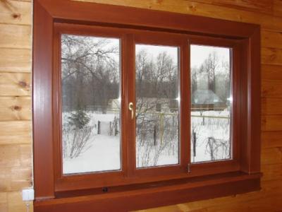 Достоинства деревянных окон и подоконников